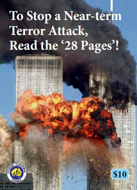 To Stop a Near-term Terror Attack, Read the '28 Pages'! (PDF)