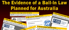 The evidence of bail-in coming to Australia