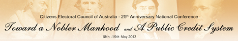 Click here to view the CEC's May 2013 National Conference proceedings