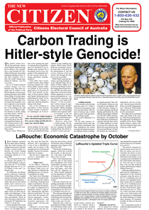 Carbon Trading is Hitler-style Genocide!