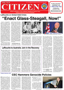 LaRouche on Global Debt Crisis: