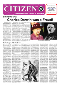 Behind the GFC: Charles Darwin was a Fraud!
