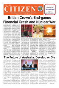 British Crown's End-game: Financial Crash and Nuclear War