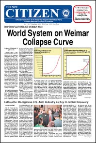 World System on Weimar Collapse Curve